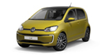 Volkswagen e-up in gold