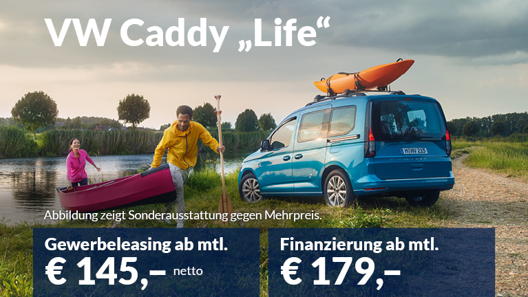 "Caddy ""Life"" 5-Sitzer Privatkundenangebot"