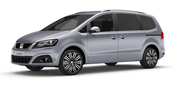 Seat Alhambra in moonstone