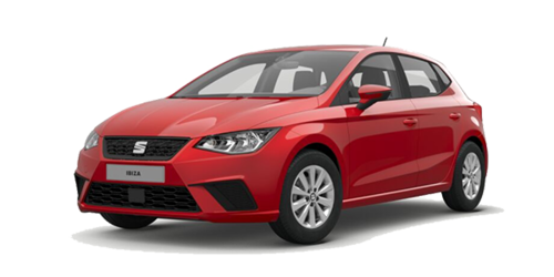 SEAT IBIZA Style in Pure Rot