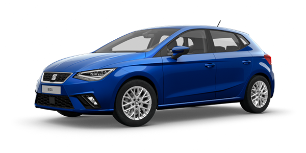 Seat Ibiza in mystery blue